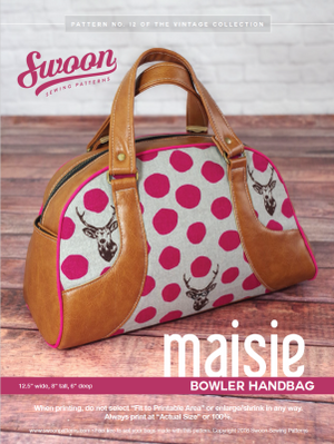 Swoon Maisie Bowler Handbag Hardware Kit