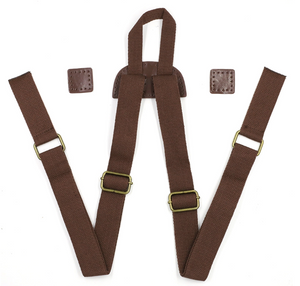 Adjustable Leather Backpack Straps