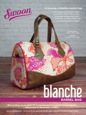 Swoon Blanche Barrel Bag Hardware Kit