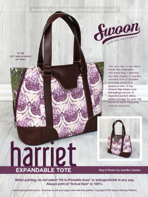 Swoon Harriet Expandable Tote Hardware Kit