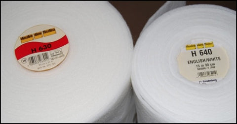 Fusible Fleece Taster Pack, Vilene H630 and H640