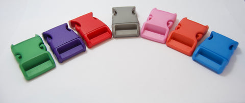 Delrin Buckle, 25mm in 8 Colours