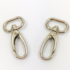 "3/4"" Swivel Snap Hooks in Silver"