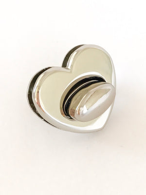 Bobbin Girl Heart Shape Turn Lock