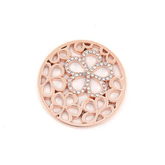Rose Gold Daisy Disk
