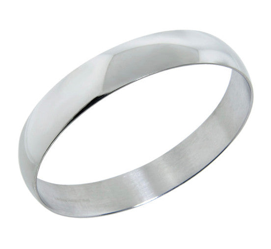 Beautiful Stainless Steel Silver Bangle