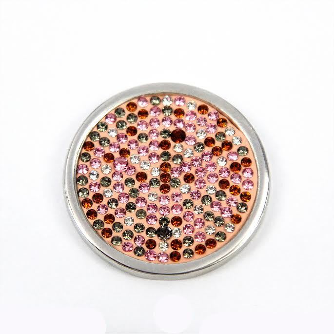 Various Coloured Diamanté Disk