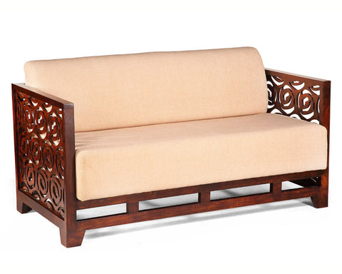 Wooden Sofa Furniture wooden sofa sets: wooden three seater, two seater sofa – fischers