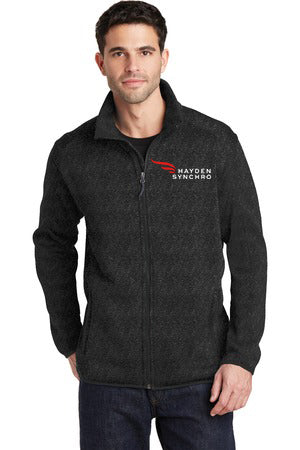 Port Authority® Men's Sweater Fleece Jacket