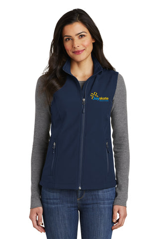 Navy Women's Soft Shell Vest