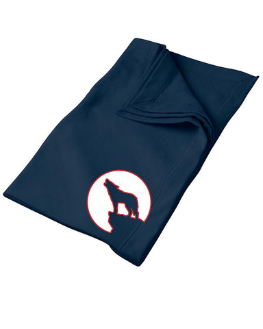 Gildan DryBlend® 9 oz. Fleece Stadium Blanket