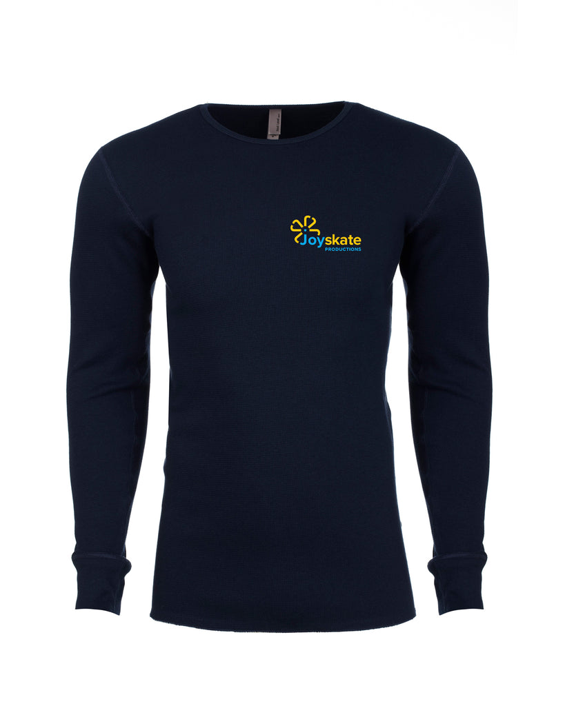 Navy Next Level Adult Long-Sleeve Thermal