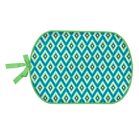 Personalized Booty Buddy! Turquoise Diamond Pattern! Great for Pool Side, Beach, Picnics, and More!