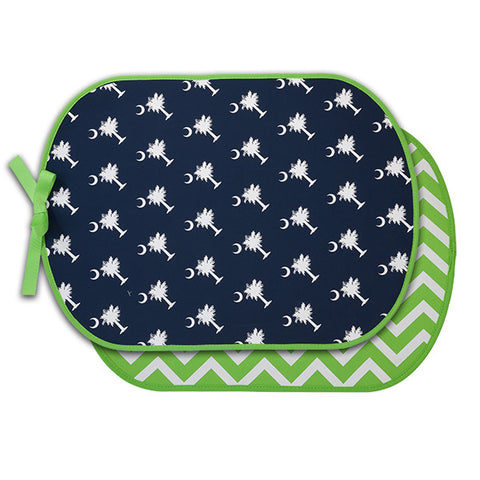 Personalized Booty Buddy!! Palmetto Moon Pattern! Great for Pool Side, Beach, Picnics, and More!