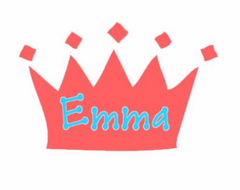 Crown with Name Decal