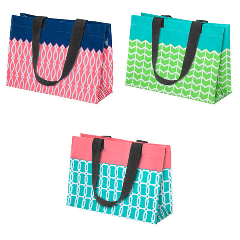 Pattern Reusable Tote Bag