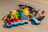 Alphabet Pirate Ship Jigsaw Pieces