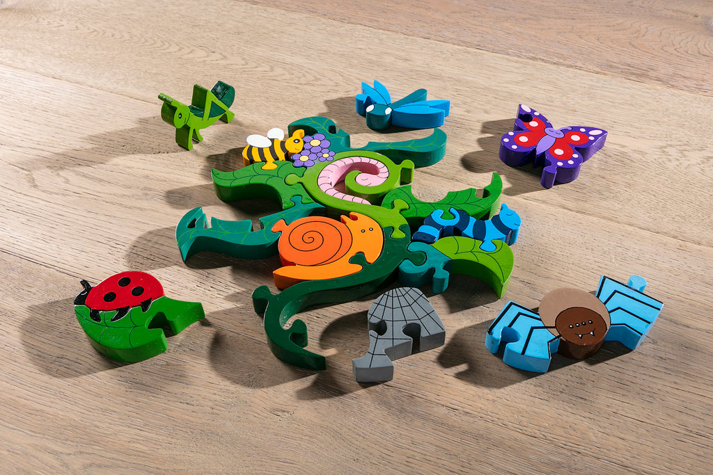 Creepy Crawlies Jigsaw Pieces