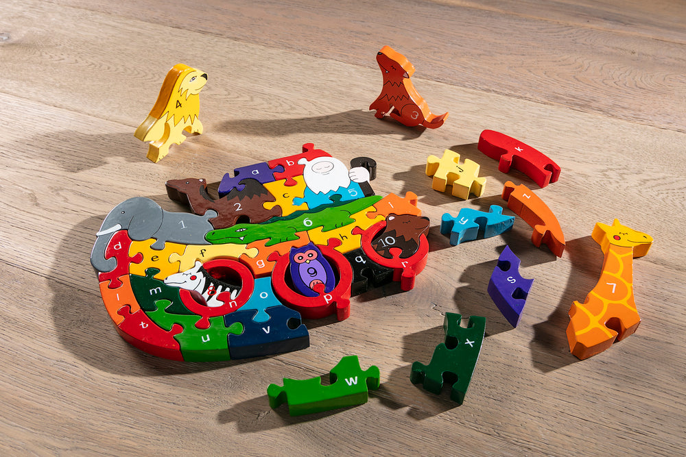 Alphabet Ark Jigsaw Pieces