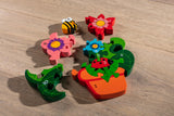 Number Flowerpot Jigsaw Pieces