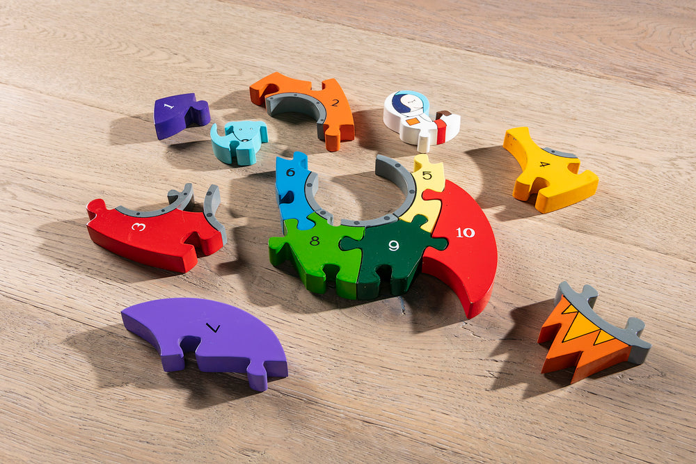 Number Rocket Jigsaw Pieces