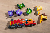 Number Train Jigsaw Pieces