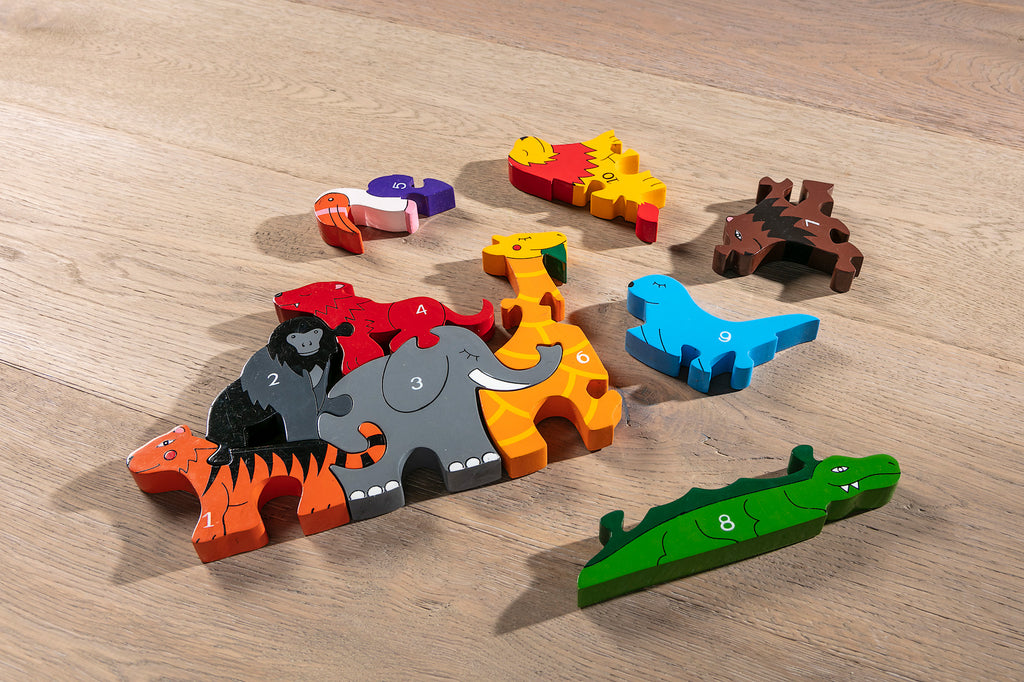 Number Zoo Jigsaw Pieces 2