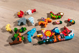 Alphabet Sun and Moon Jigsaw & Playset Pieces