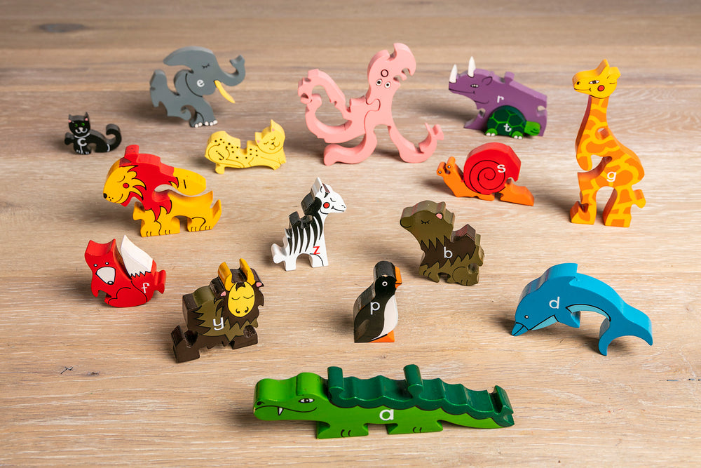 Alphabet Zoo Jigsaw & Playset Pieces 2