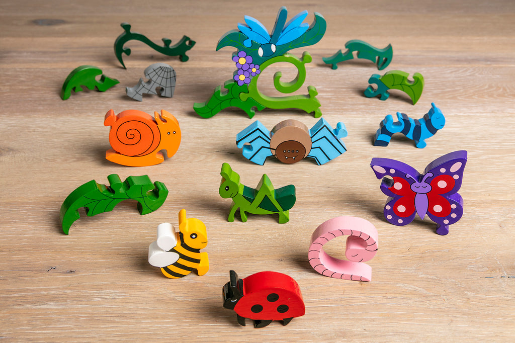 Creepy Crawlies Jigsaw Pieces 3