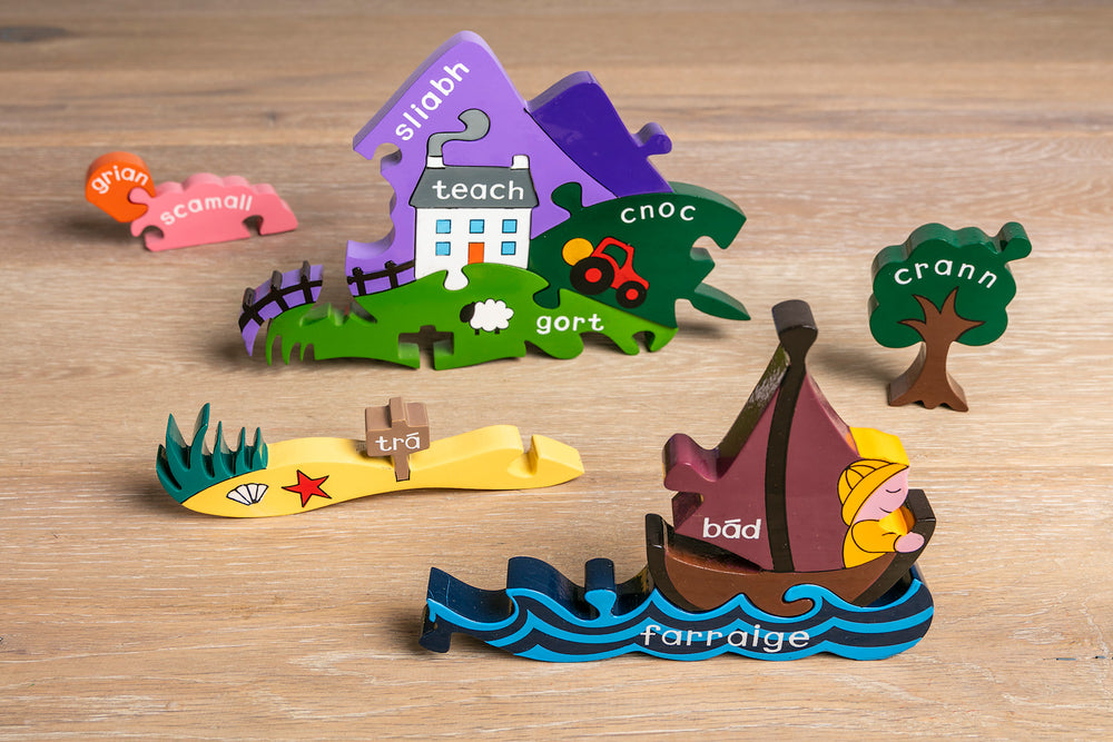 Irish Scene Jigsaw Pieces 2