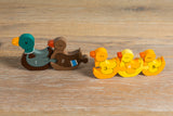 Number Duck Row Jigsaw Pieces