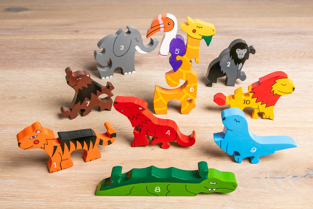 Number Zoo Jigsaw Pieces