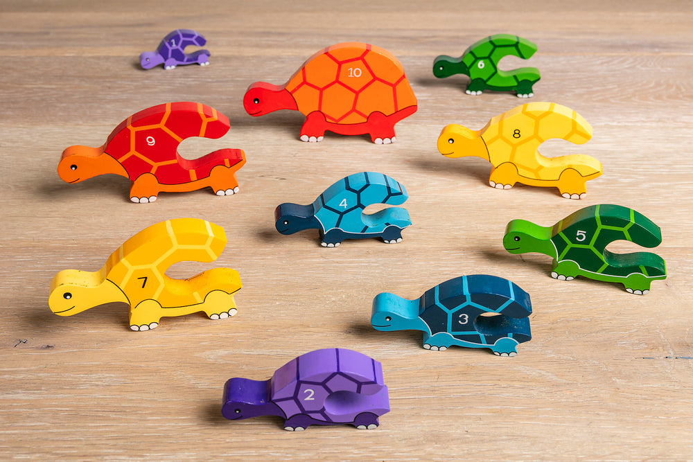 Number Tortoise Row Jigsaw