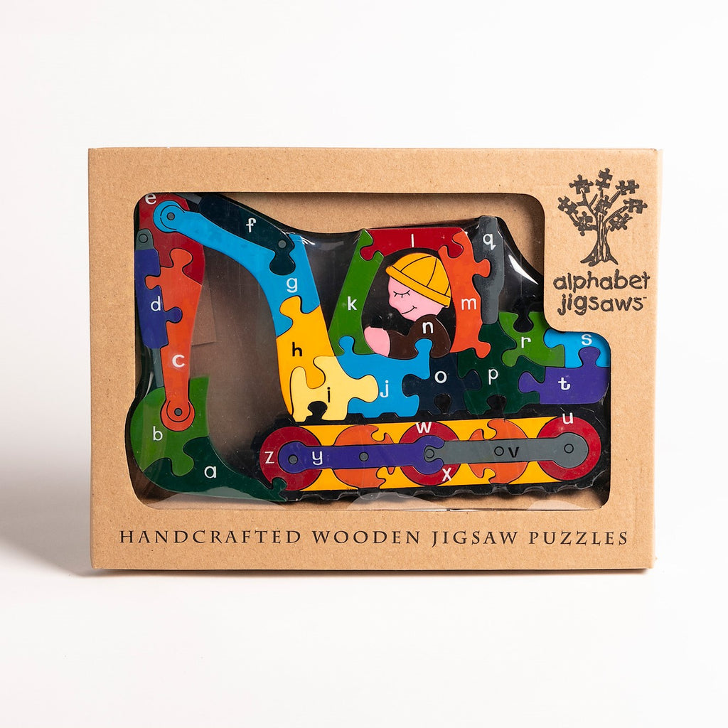 Alphabet Digger Jigsaw Puzzle Boxed