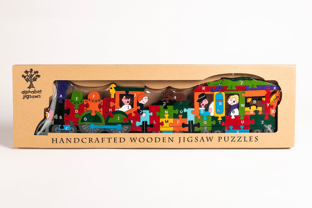 Alphabet Train Jigsaw Puzzle Boxed