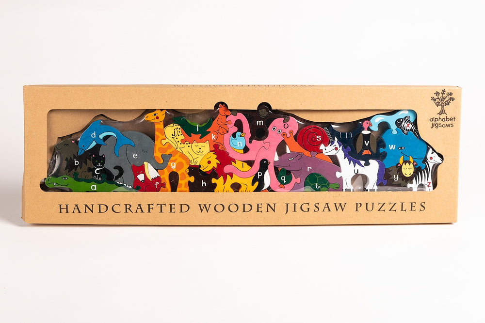 Alphabet Zoo Jigsaw & Playset Boxed