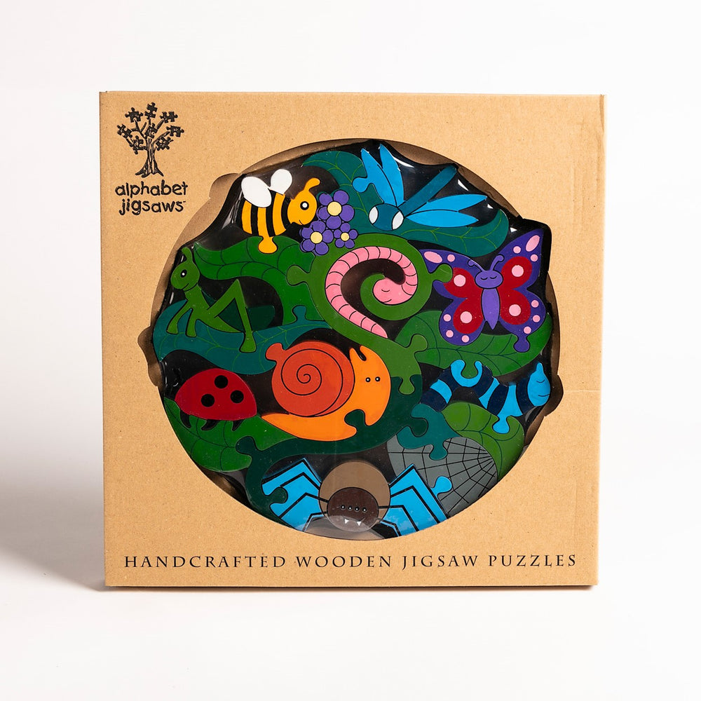 Creepy Crawlies Jigsaw Puzzle Boxed