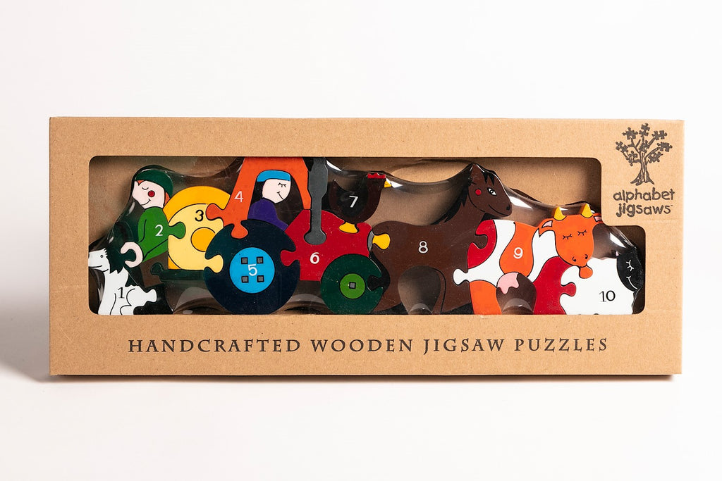Number Farm Jigsaw Puzzle Boxed