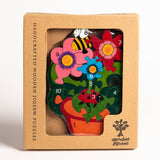 Number Flowerpot Jigsaw Puzzle Boxed