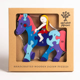 Number Horse Jigsaw Puzzle Boxed