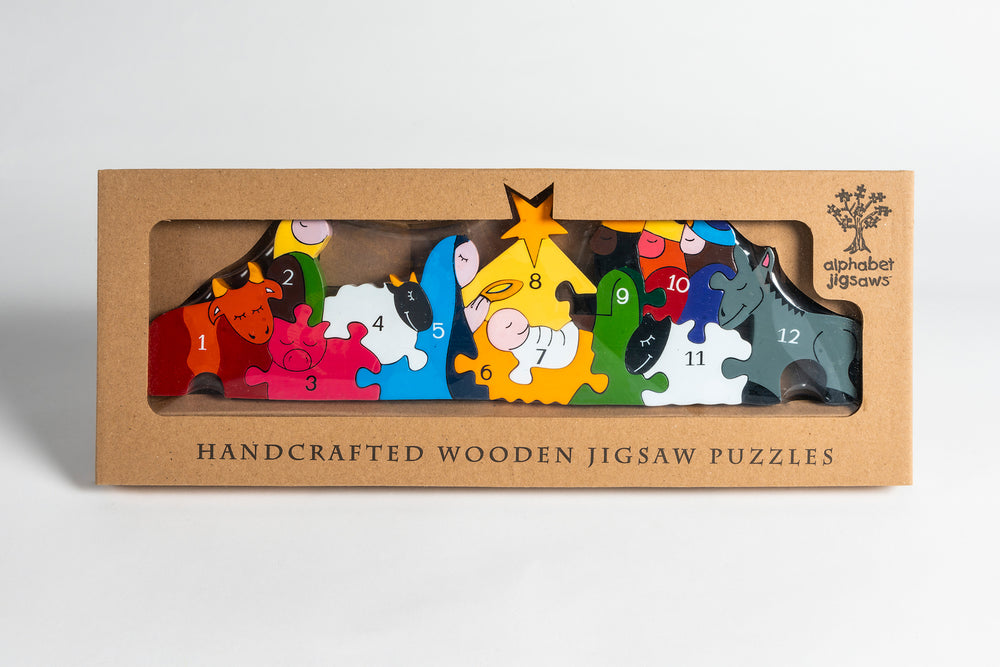 Number Nativity Jigsaw Puzzle Boxed