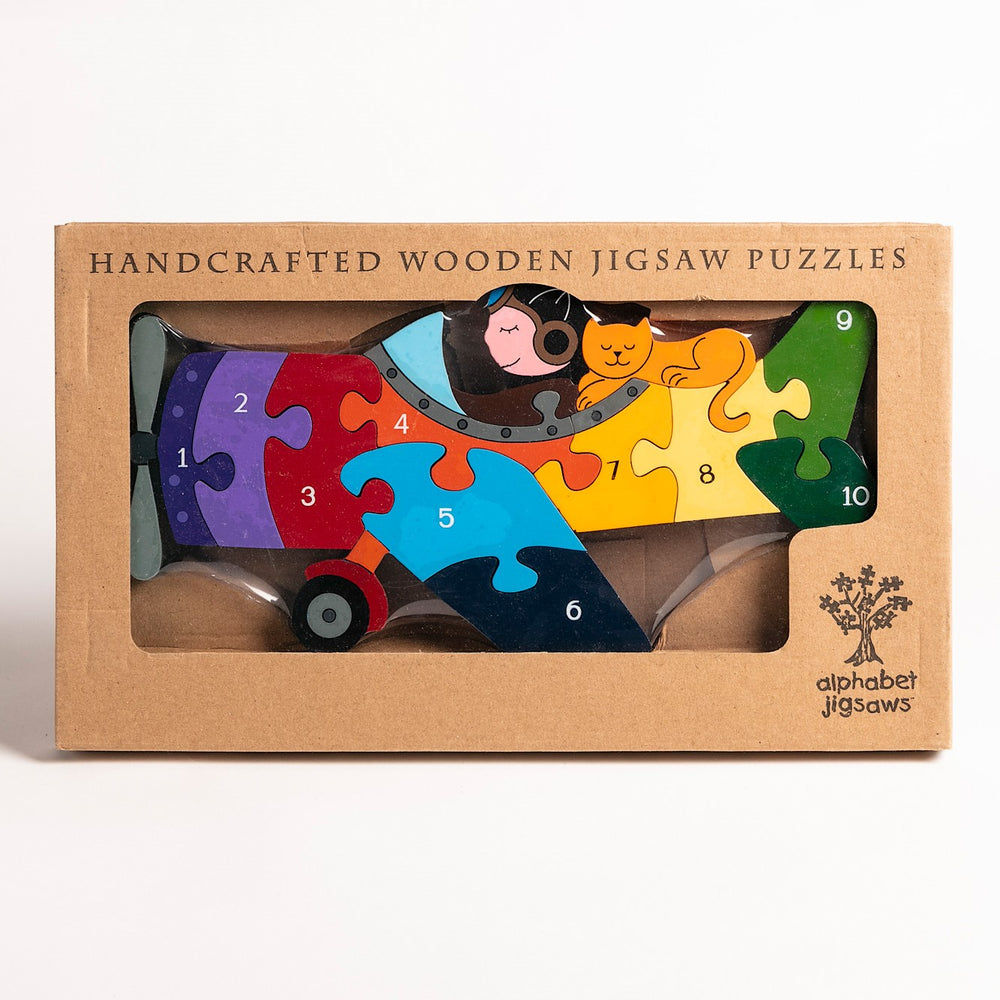 Number Plane Jigsaw Puzzle Boxed