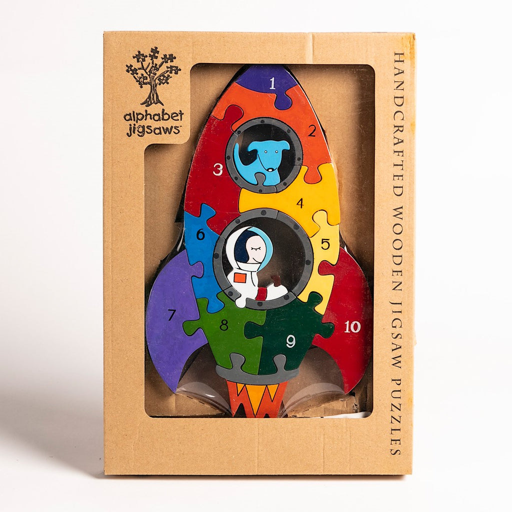 Number Rocket Jigsaw Puzzle Boxed