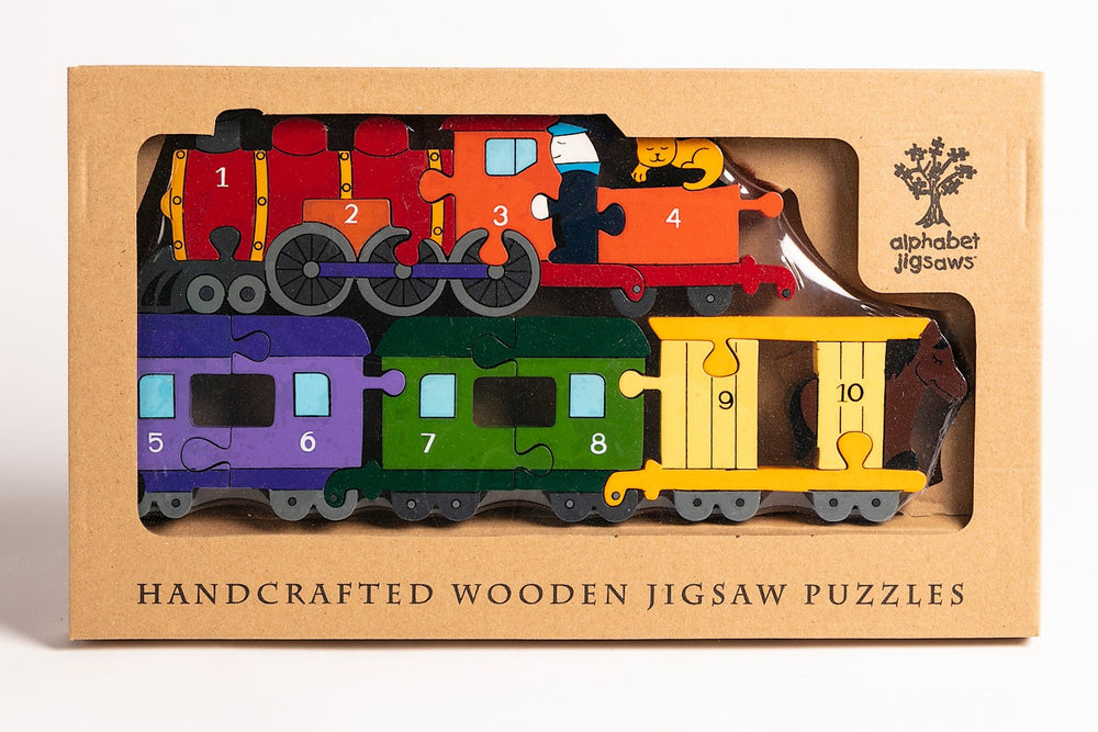 Number Train Jigsaw Puzzle Boxed