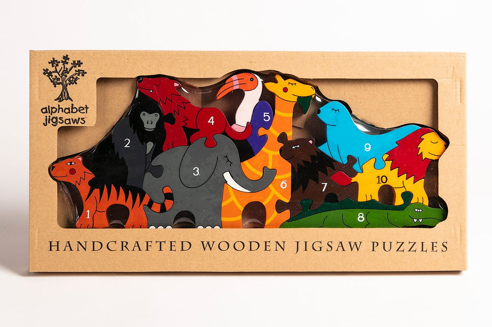 Number Zoo Jigsaw Puzzle Boxed