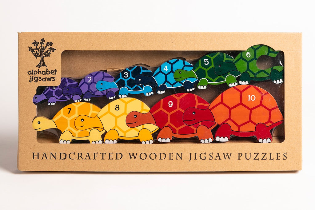 Number Tortoise Row Jigsaw Boxed