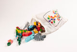 Alphabet Sun and Moon Jigsaw & Playset Bag
