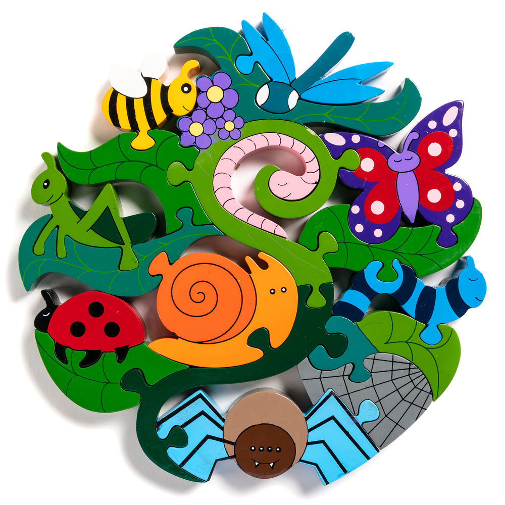 Creepy Crawlies Jigsaw Puzzle
