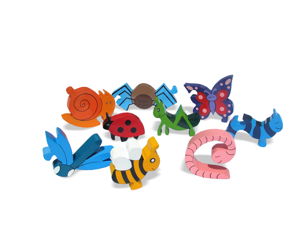 Creepy Crawlies Jigsaw Pieces 2